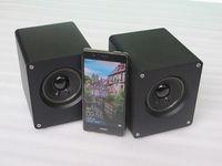 ZEROZONE One pair complete Hifi Desktop speaker Full range PC speaker 15W 4ohm L7 17