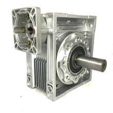 NMRV090 Червячный Редуктор Редуктор Редуктор для NEMA42 Серводвигателя Шаговый Двигатель