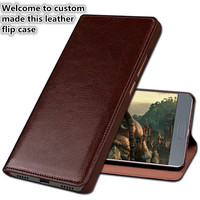 LS05 Genuine Leather Phone Cover With Kickstand For Nokia 7 Phone Case For Nokia 7 Flip Case