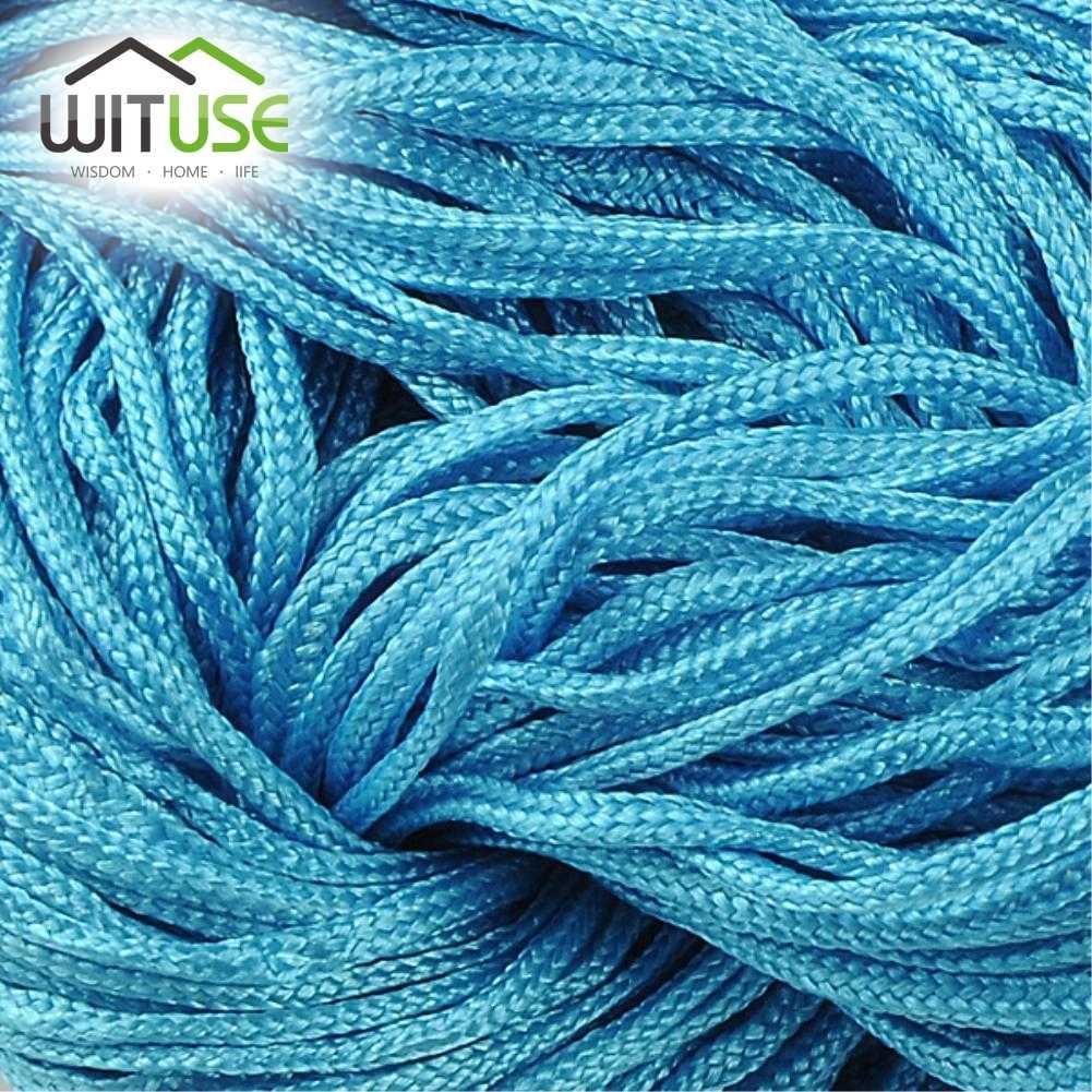 22 meter 1.0MM Waxed Thread Katoenen Koord String Riem Groothandel Sieraden Ketting Touw Bead Fit shamballa Armband