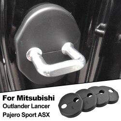 Misima-hebilla de puerta para coche Mitsubishi Outlander, cubierta de cerradura de puerta, estilo deportivo, 2013, 2014, 2011, ASX, 2007-2013, Pajero Sport, 2013, 2006, 2007, 2008