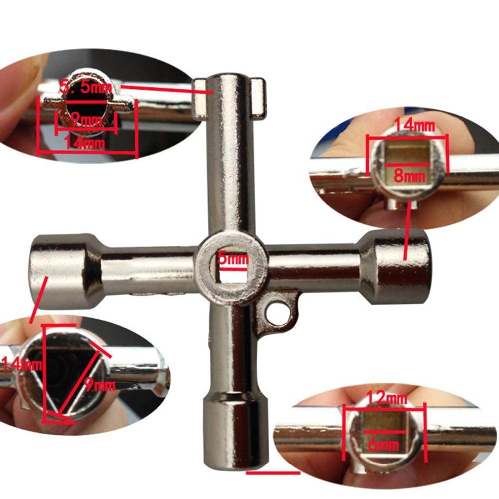 Chiavi multifunzione utensili manuali chiave esagonale universale a - Utensili manuali - Fotografia 2