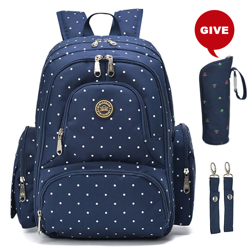 Baby Care Bag Multifunction Vintage Dot Diaper Bag Backpack For Mom Large Capacity Baby Bags For Mom ^Baby Care Bag Multifunction Vintage Dot Diaper Bag Backpack For Mom Large Capacity Baby Bags For Mom ^