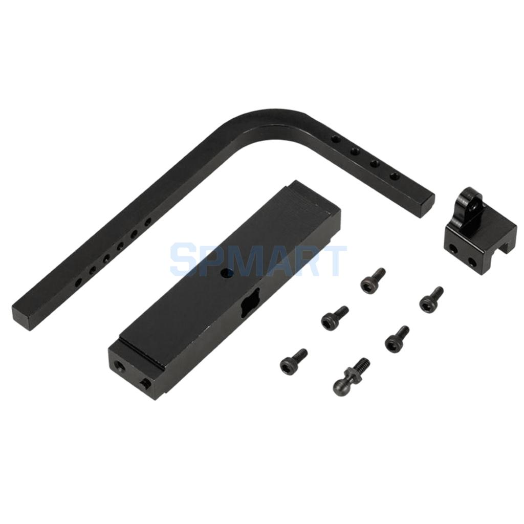Trailer Hitch Receiver Fit 1/10 RC Traxxas HSP Redcat RC4WD Axial SCX10 D90 ...