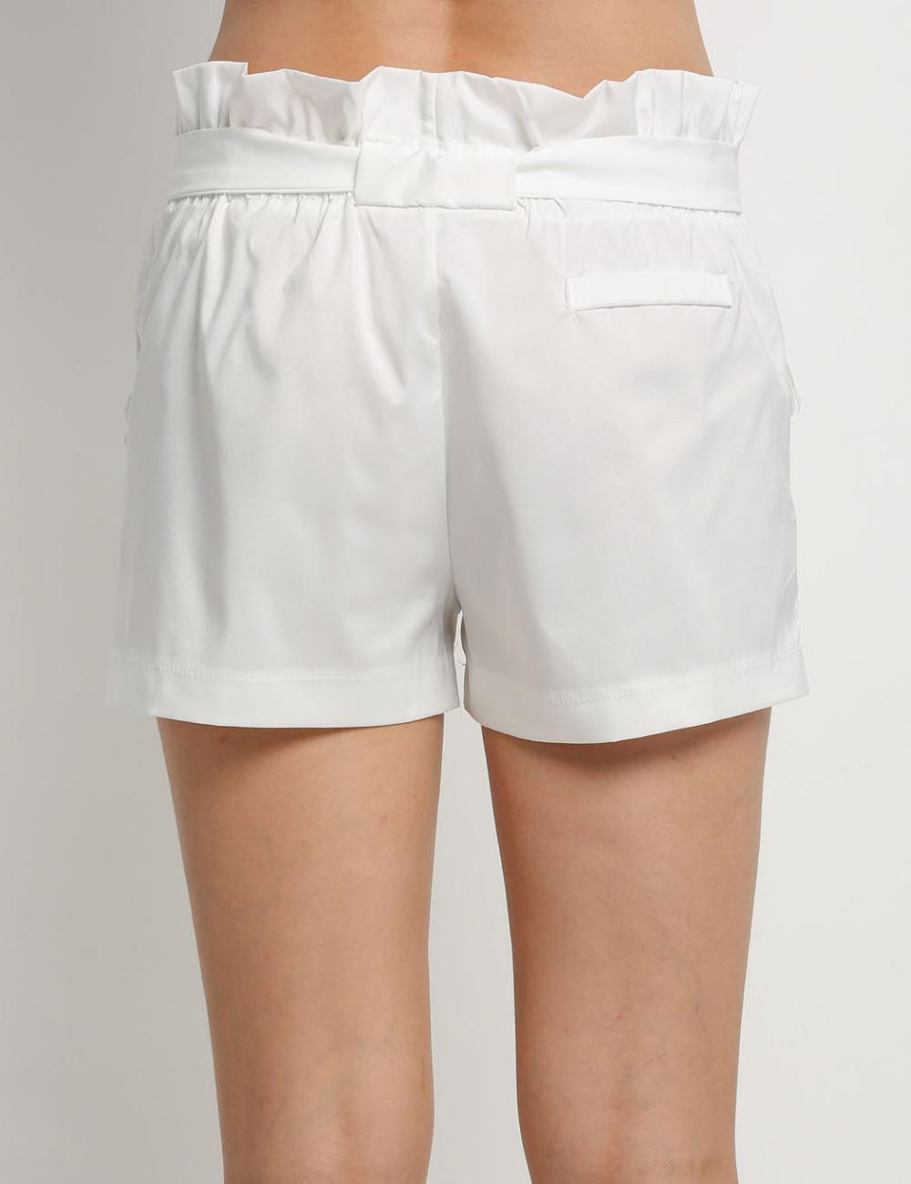 HTB1iPQUNFXXXXc7XXXXq6xXFXXXn - High Waist Shorts Loose Shorts With Belt Woman PTC 59