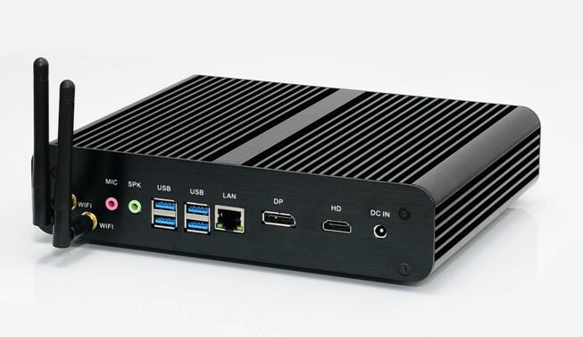 Partaker B13 Mini PC with 7th Gen Kaby Lake Intel Core i7 7500U Winows 10 Linux Ubuntu Barebone Fanless Mini PC 4K HTPC Computer business mini pc htpc with intel 6th gen skylake corei7 6500u i7 6600u windows 10 barebone pc fanless computer 1 dp metal case