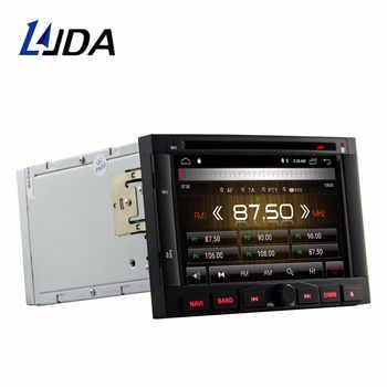 LJDA Android 10 Car Multimedia Player For Peugeot 3005 3008 5008 Partner Berlingo Stereo GPS Navigation DVD DSP 2 Din Car Radio