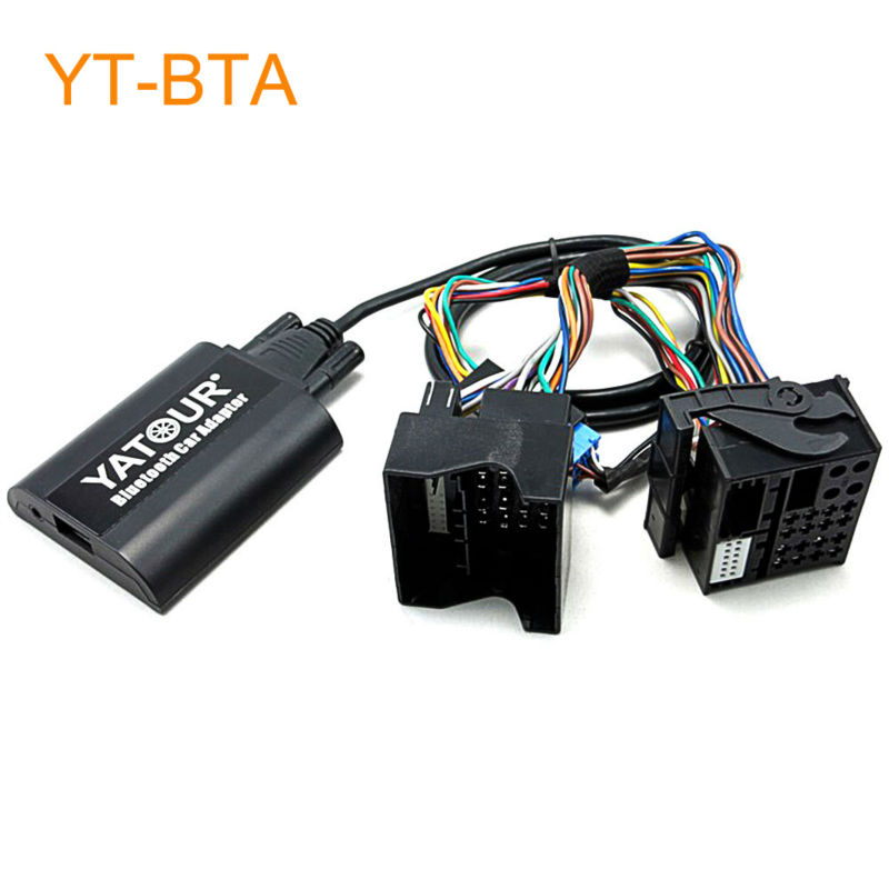 Yatour BTA Car Bluetooth Adapter Kit for Factory OEM Head Unit Radio for Renault Megane 3 Scenic Laguna Traffic from 2009 car usb sd aux adapter digital music changer mp3 converter for skoda octavia 2007 2011 fits select oem radios