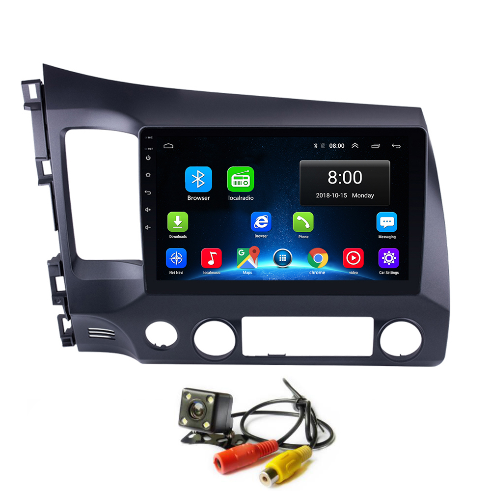 <font><b>Android</b></font> 8.1 Auto Radio GPS Kopf für <font><b>Honda</b></font> <font><b>Civic</b></font> 2006-2011 Auto Autoradio Video Multimedia-Player <font><b>Stereo</b></font> mit BT Wifi navigation image