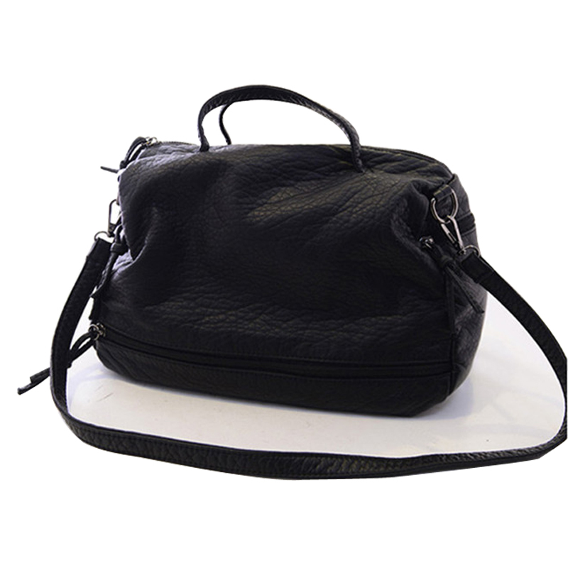 ФОТО 2 Colors retro handbag soft PU leather motorcycle bag Miss Xia shoulder Messenger bag with zipper mobile