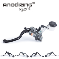 Free Shipping Motorcycle 19X18 16X18 Brake Adelin Master Cylinder Hydraulic Brake Clutch Pump Lever Handle FOR