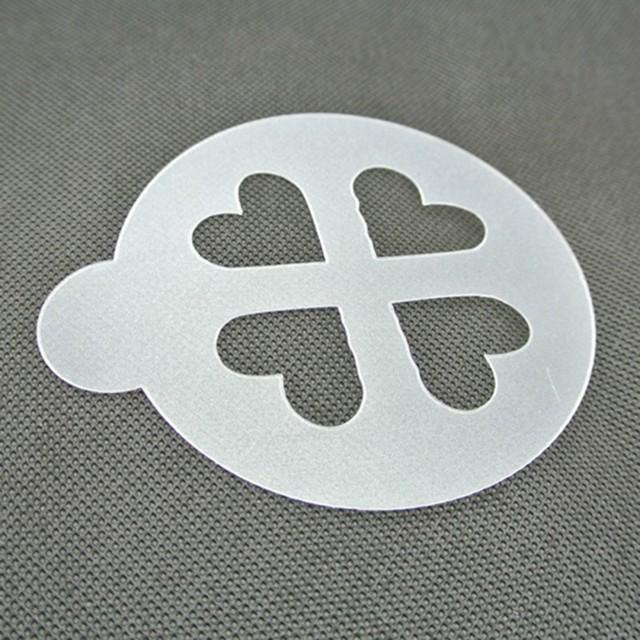 6pcs/set Latte Art Stencil