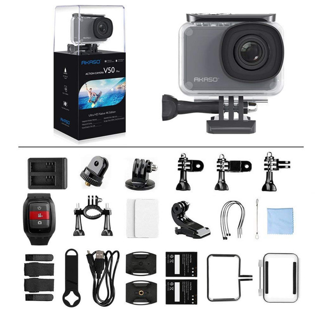 Waterproof Ultra HD 4K Camera with Touch Screen