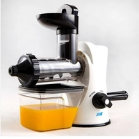 Food Juicer Mini Household Manual Fruit Vegetable Wheatgrass Slow Juice Extractor Machine