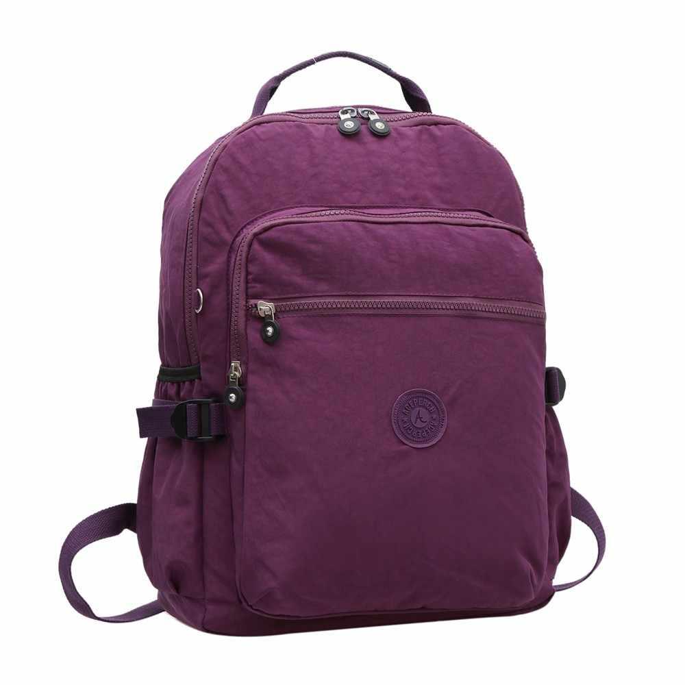 Повседневный рюкзак для колледжа для подростков нейлоновый рюкзак для ноутбука женский холщовый рюкзак для школьников/студентов сумка для книг