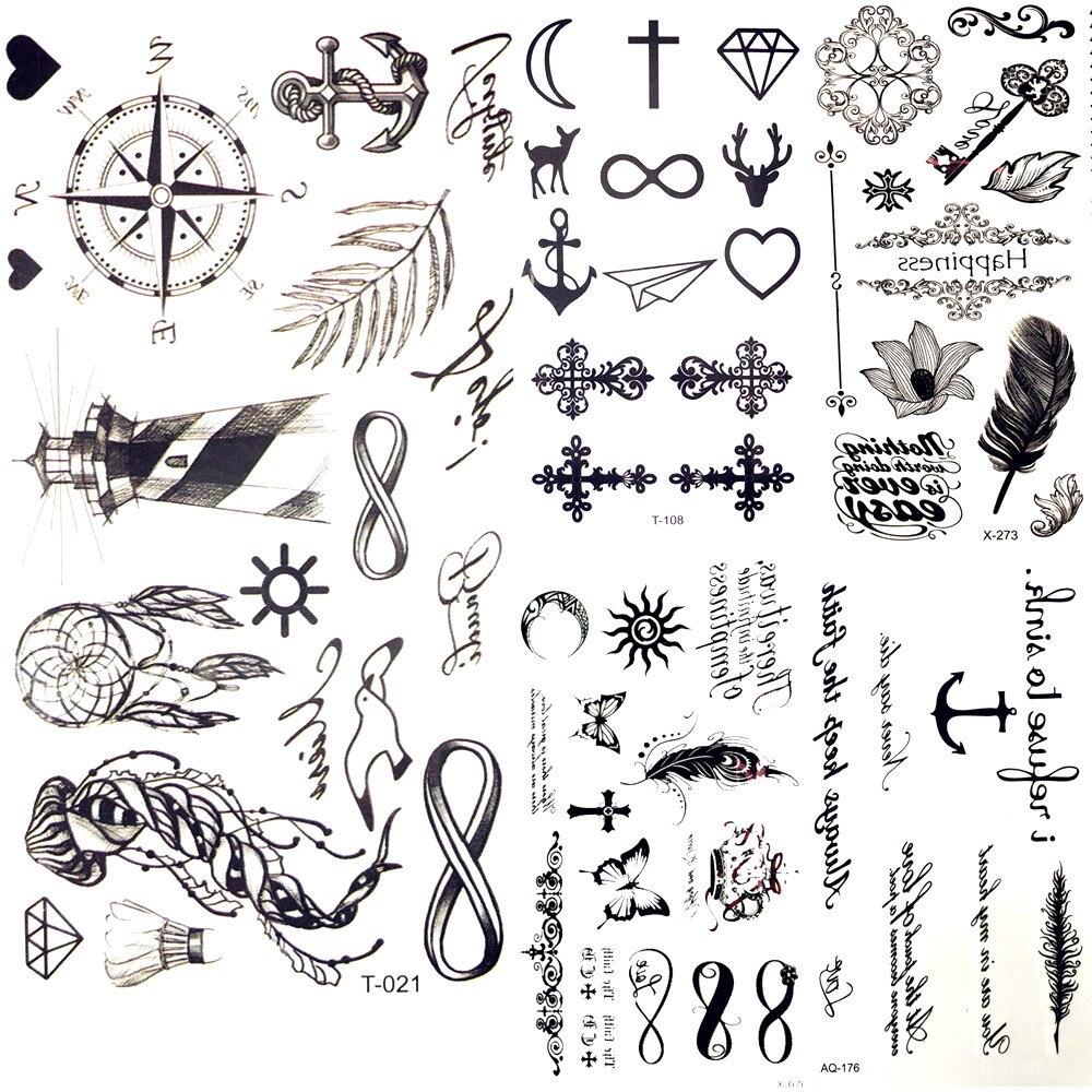 Картинки для переводных тату маленькие