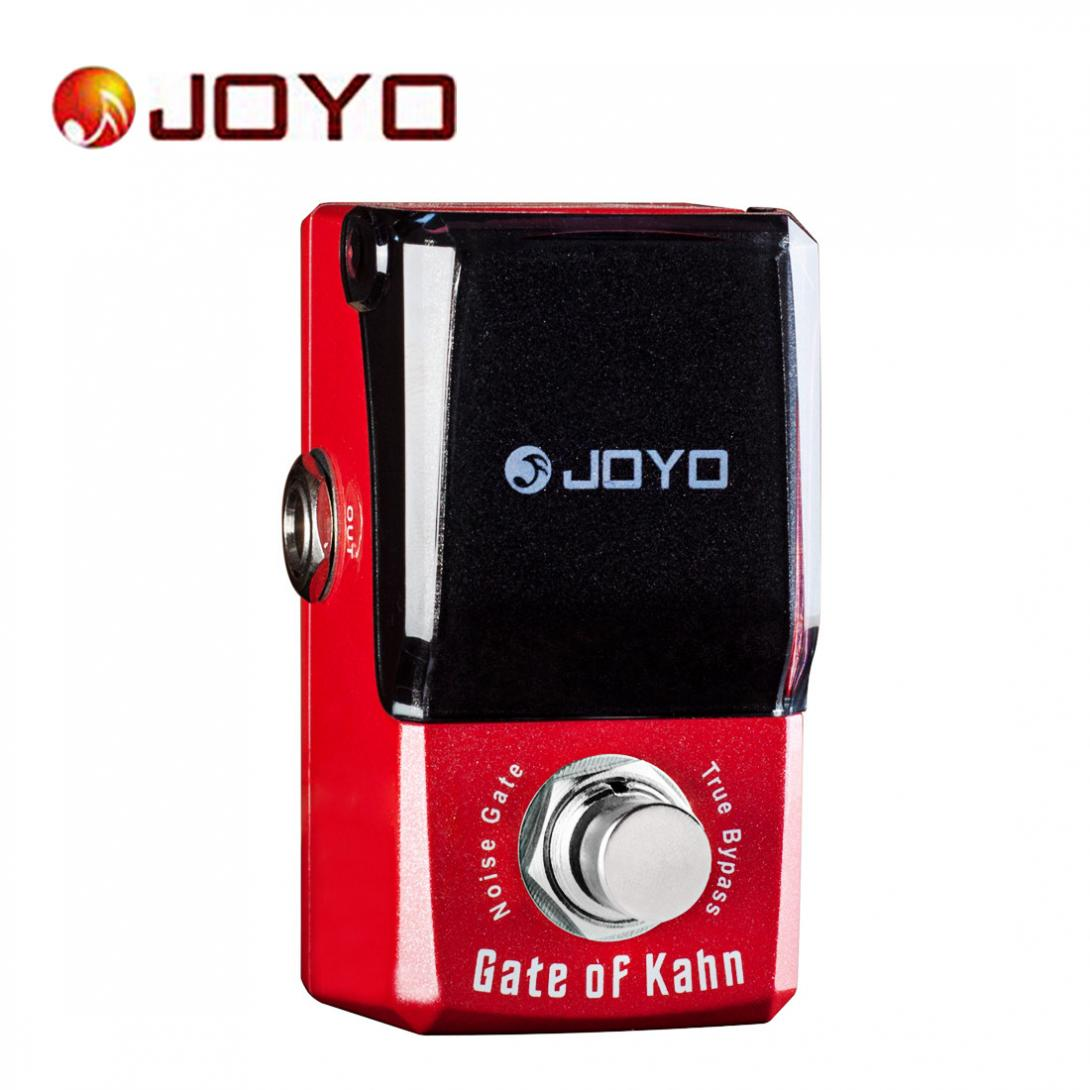 JOYO Gate of Kahn Mini Electric Guitar Effect Pedal with Knob Guard jf 324 gate of kahn effects guitar pedal jf324 effect pedal joyo gate of kahn pedals joyo