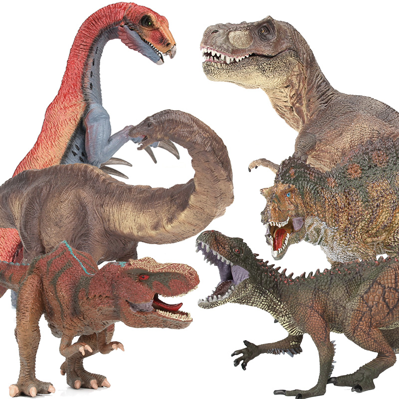 Lamwin Boy Favor Big Plastic Dinosaur Toy Animals Figures Realistic Jurassic Dinossauro Collection Gift lamwin 6pcs lot large dinosaur toy collection set jurassic world park hollow model figure free gift dinossauro egg