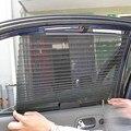 2016 Nueva Cortina de la Ventana de Coche Parasol Negro Side Rear Window Mesh Visor Shield Car Window Protección Solar ME3L