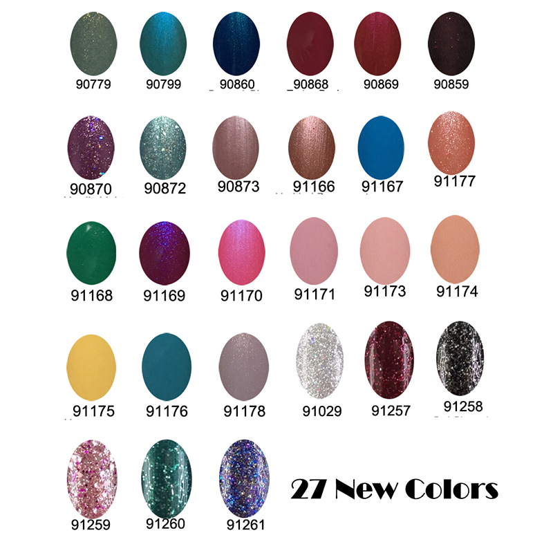 89Pcs lot Gelexus Soak Off UV LED Nail Gel Polish Total116colors The Best Quality Gel Polish