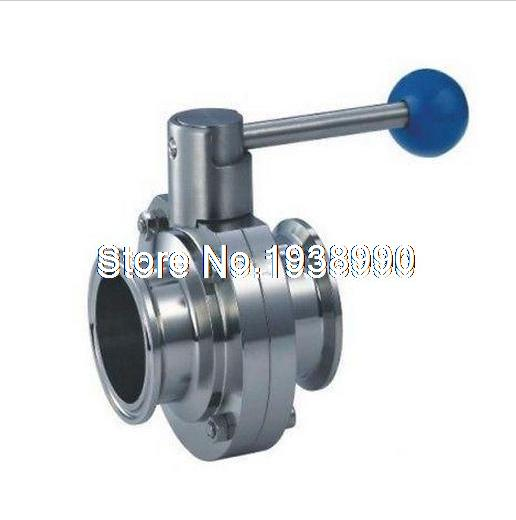 Sanitary TriClamp Butterfly Valve, size:1.5 /1/ 3/4, SS304 ,TC-Clamp butterfly valve 4 102mm page 8