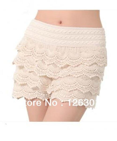 nuevo estilo Venta caliente genuino baratas Pastel de encaje Sexy faldas cortas-in Faldas from Ropa de ...