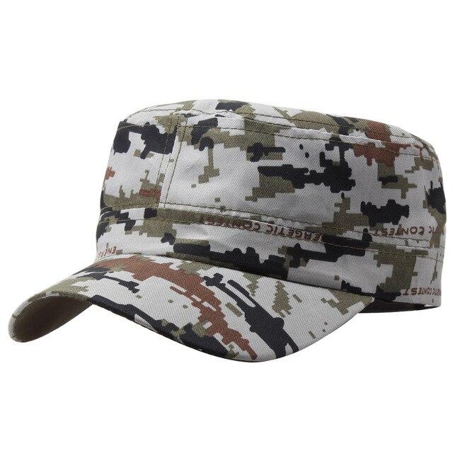 06d893e5364 Marine Corps Hat Camouflage Flat Top Cap Men patriot Baseball Cap US Air  Force Club Navy