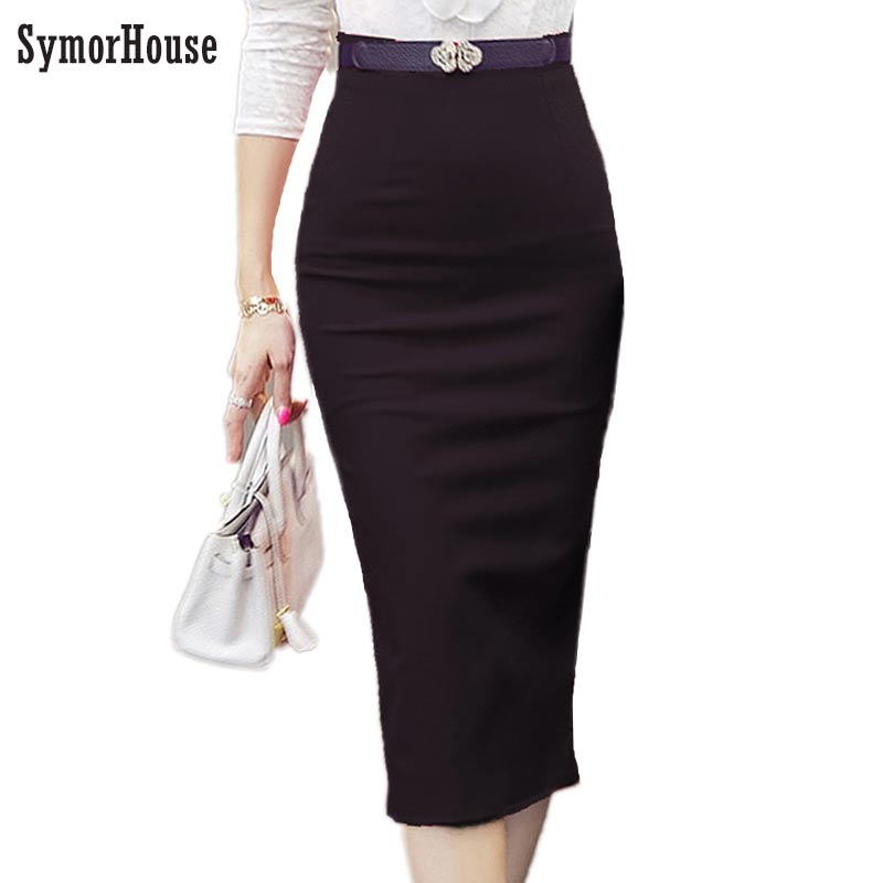 2018 Pencil Skirt Women Bodycon Fashion