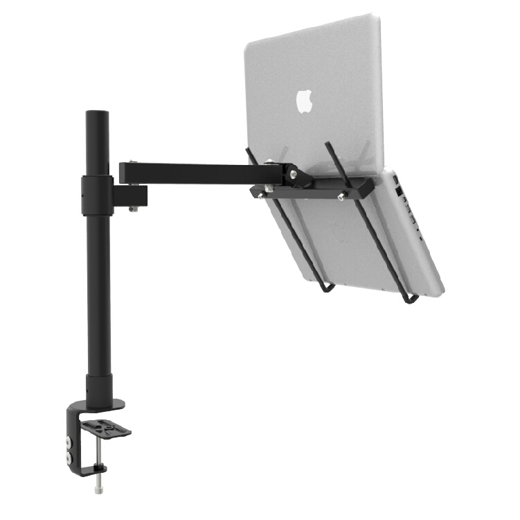 Height Adjustable Desktop Clamping 11-15 Inch Laptop Holder Full Motion Cooling Lapdesk Notebook Holder Bracket Stand BC251/40