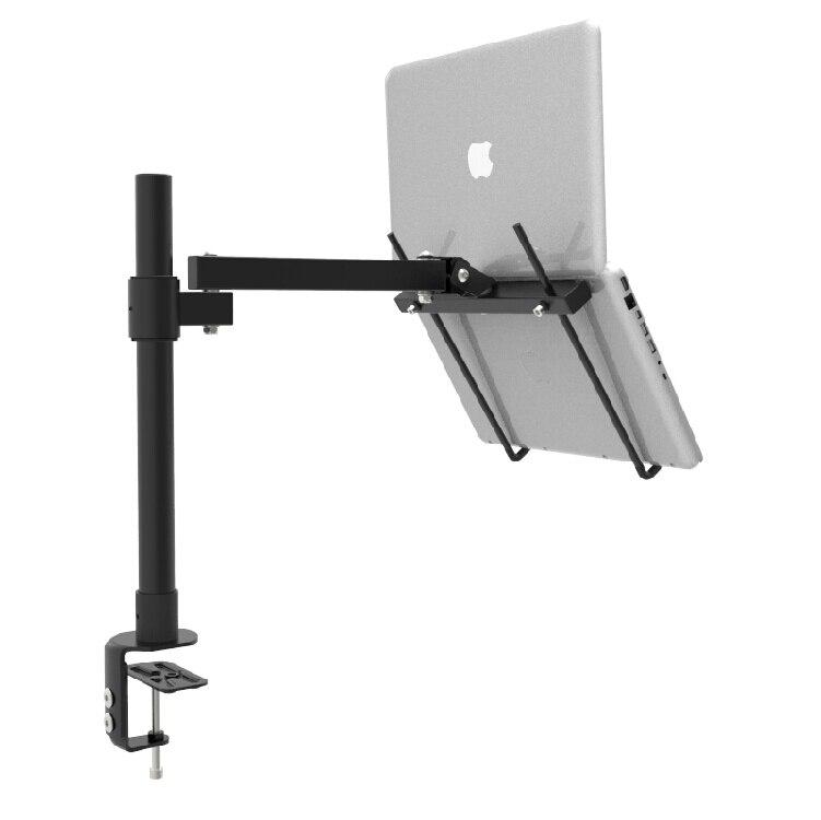 Desktop de Fixação Suporte do Portátil Altura Ajustável Polegada Completo Movimento Resfriamento Lapdesk Notebook Suporte Bracket Bc251 – 40 11-15