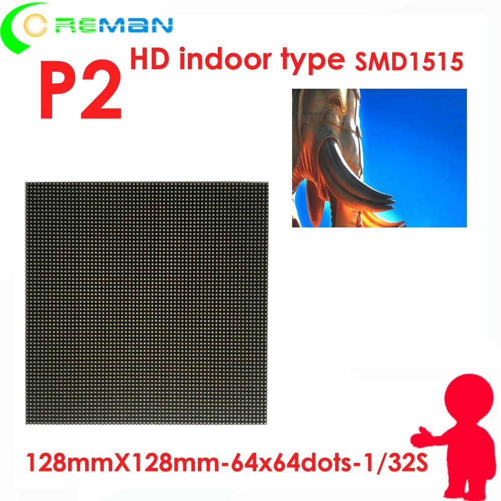 Matrix-Module Led-Screen-Panel Small-Unit Hub75 P2 Led Meeting-Room Indoor Full-Color