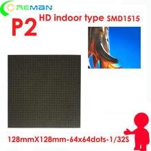 O mais baixo preço hd p2 interno conduziu o módulo de matriz rgb cor cheia hub75 exposição da sala de reuniões conduziu a tela do painel p2 unidade pequena
