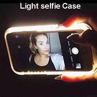 premium selection da764 3f108 US $11.9 |LED Light selfie Light UP Selfie Led Cover Light Up Phone Case  for Samsung Galaxy S6 S7 edge plus on Aliexpress.com | Alibaba Group