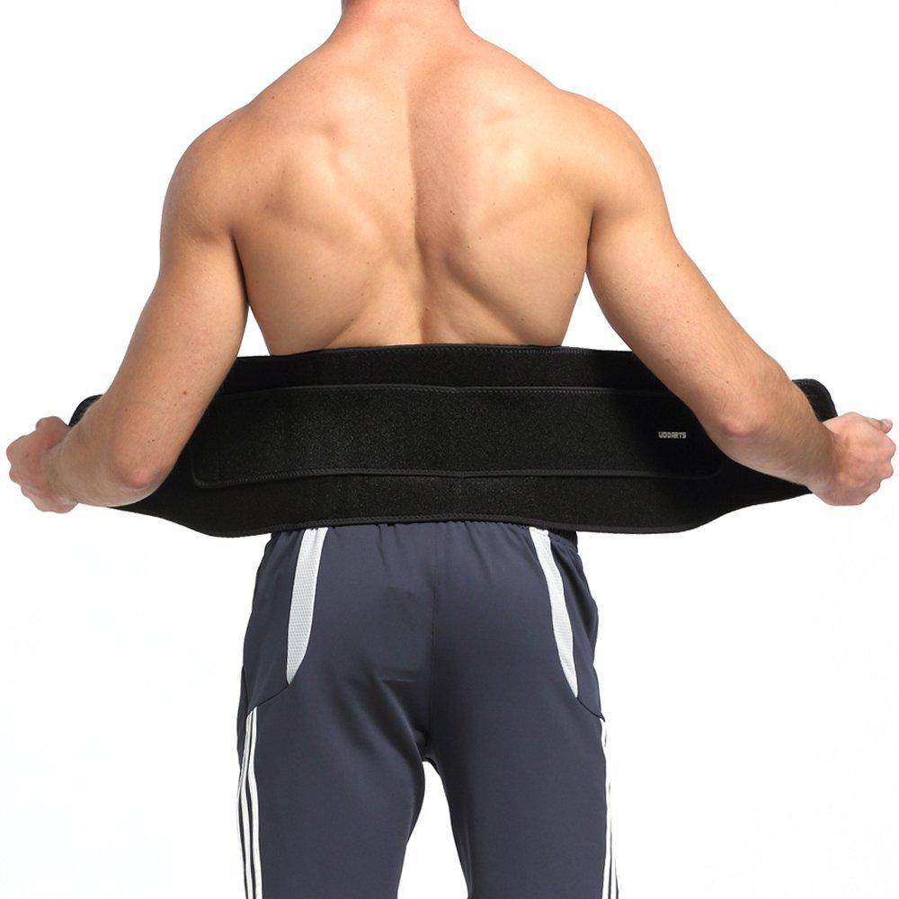 Cinturón de soporte de cintura ajustable Udoarts