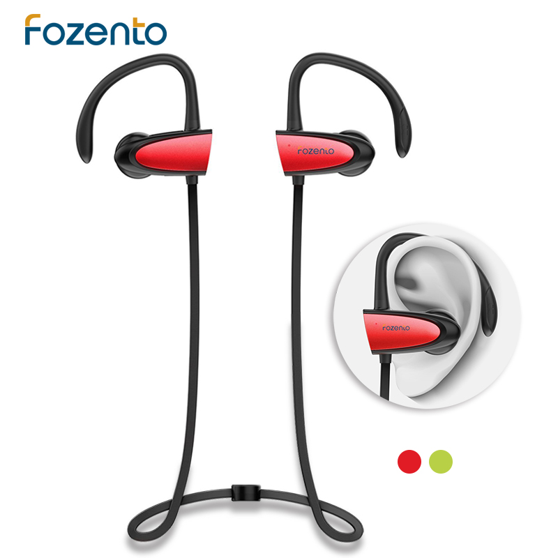 in ear stereo wireless earphone fozento sports bluetooth earbuds bluetooth 4 2 wireless earphone. Black Bedroom Furniture Sets. Home Design Ideas
