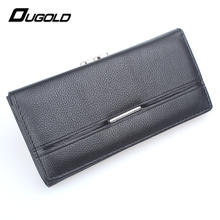 Ougold New Fashion Brand Wallets Ladies Clutch Purse Phone Card Holders Coin Purses Pocket Long Wallet Women Handbag