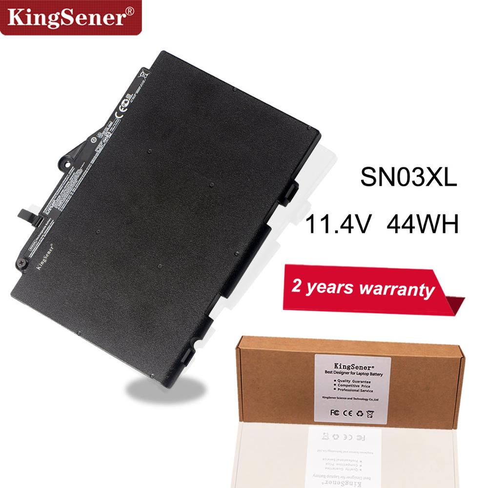 Kingsener SN03XL Laptop Battery For HP EliteBook 820 725 G3 G4 800514-001 800232-241 HSTNN-UB6T HSTNN-DB6V 11.4V 44WH