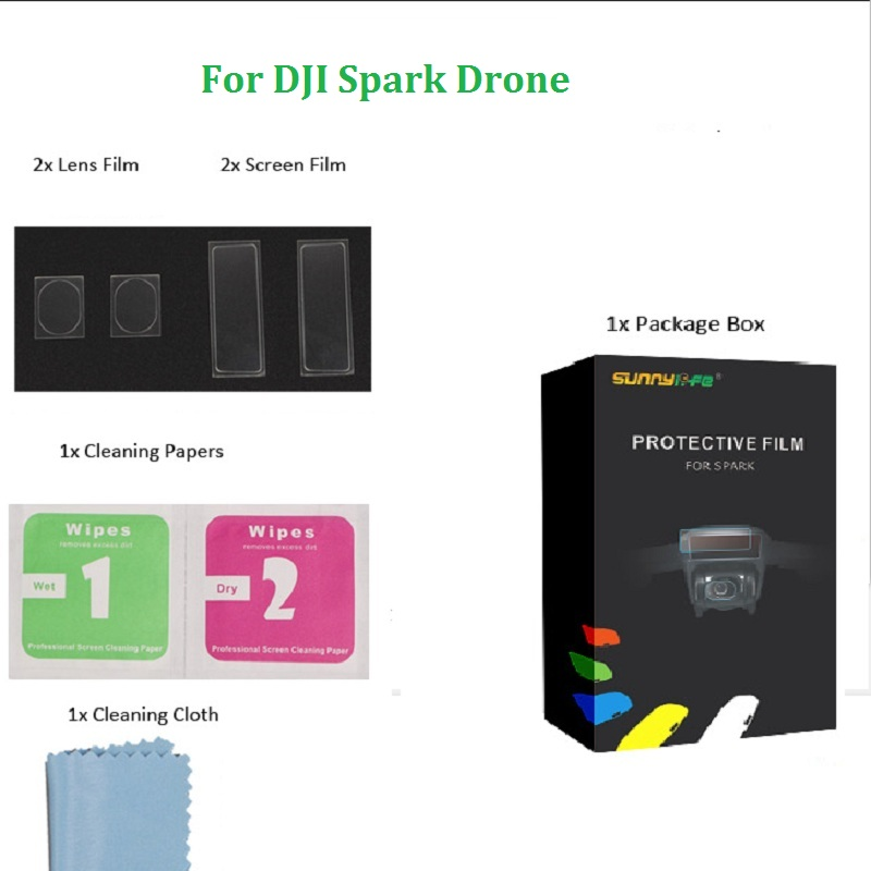 3D Sensor Screen Camera Lens Combo Body Film Screen Protective Set for font b DJI b