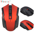 Mejor 2.4 Ghz Mini portátil Wireless Optical Gaming Mouse Profesional Gamer Ratón Para PC de Escritorio Del Ordenador Portátil #1320