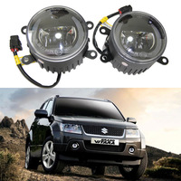 2x 3.5 Led DRL Fog & Daytime Running light For Suzuki Grand Vitara 2 ALTO 5 SWIFT 3 JIMNY FJ 2005 2015 Fog lamp 12V car styling