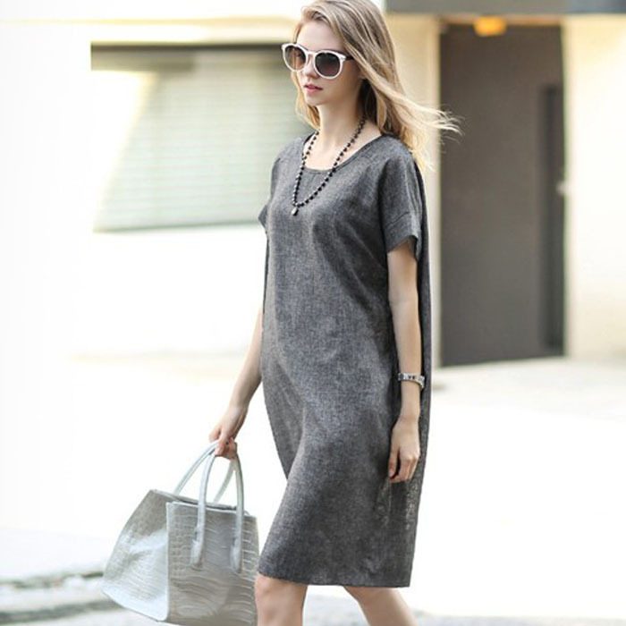 Marka Styl Lniane Sukienki Ciążowe Ubrania Dla Kobiet W