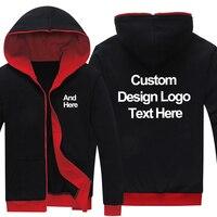 Dropshipping Logo Custom New Black red Sweatshirt Hoodie Customized Made Printing Logo Graphic Hoodies Sweatshirts Coat Jacket