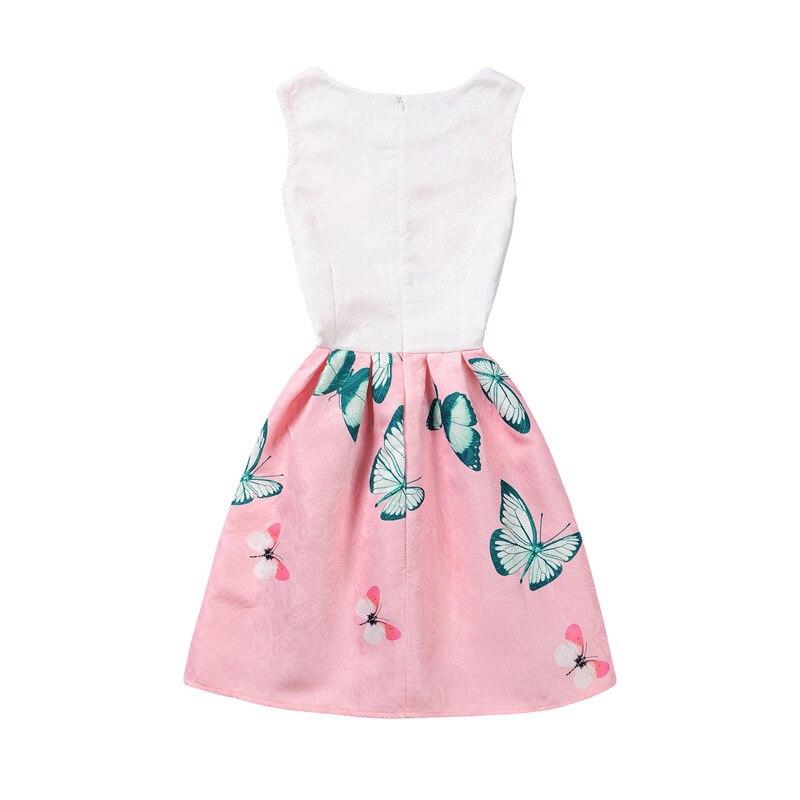Ventas calientes del verano niñas Vestido de mariposa princesa ...