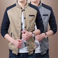 2015 Spring Fashion Brand Casual Men Jacket And Coat Stand collar jacke Outerwear High Quality Jackets For Men M-3XL