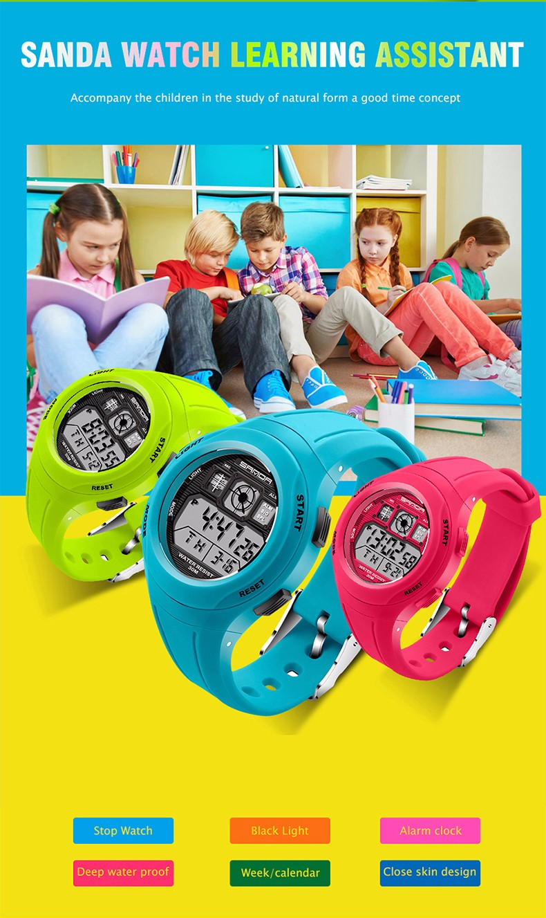 Reloj Kids boys Rubber 8