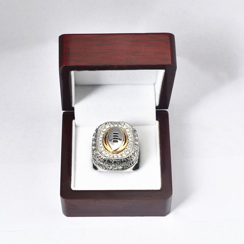 2014 Ohio State Buckeyes National Championship Ring 2015 College Football Playoff National Champion Ring With Wooden Box J02077