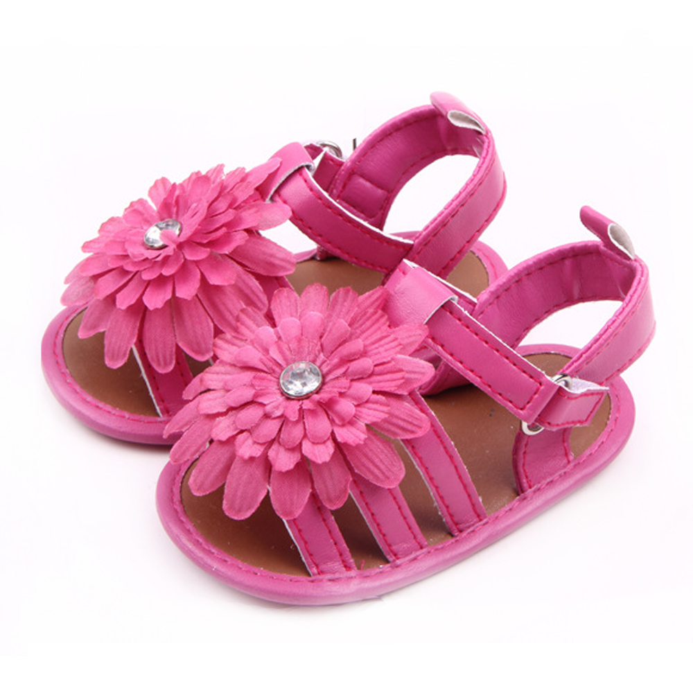 358005a752e1 Baby Girl Sandals Brand Summer Princess Shoes Newborn Infant Toddler ...