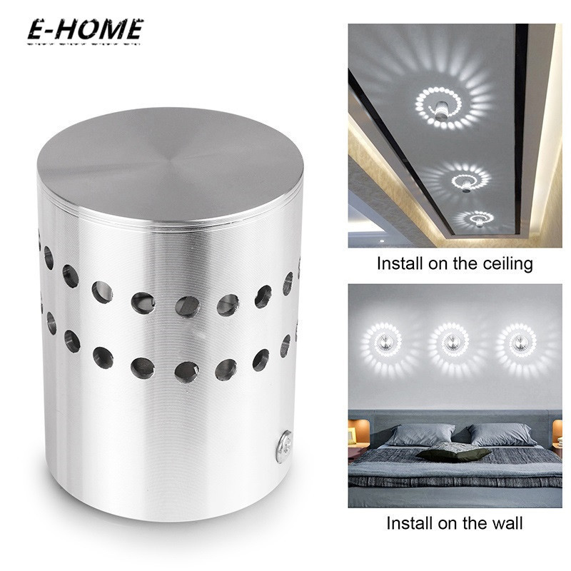 EHOME Creative Art Gallery Decoration Small Colorful LED Ceiling Light for Front Balcony lamp Porch light corridor lamp Fixture