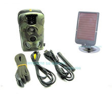 Free Shipping!New Acorn Ltl 5210MM Trail Farm Hunting GSM SMS/MMS Game Camera +7V Solar Panel