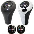 1 unids m-tech M3 de $ Number Velocidades o $ Number Velocidades Shift Gear Knob Insertar Emblema Insignias Envío Libre